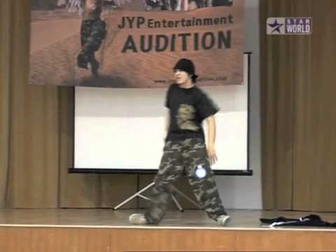 Woo Hye Lim from the Wonder Girls Auditions for JYPE