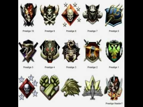 OFFICIAL BLACK OPS 2 emblems including master presitige
