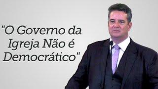 """""""O Governo da Igreja Não é Democrático"""" - Rev. Davi Charles Gomes"""