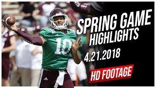 Keytaon Thompson Mississippi State Spring Game Full Highlights    4.21.2018