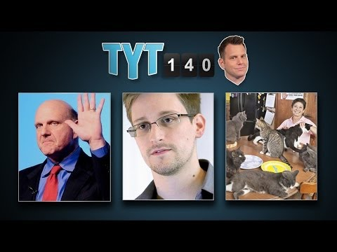 Clippers Sale, Shinseki Out, Snowden Emails and Medical Marijuana | TYT140 (May 30, 2014)