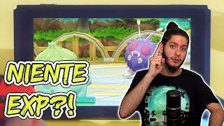 NIENTE EXP in Pokémon Let's Go Pikachu ed Eevee?!