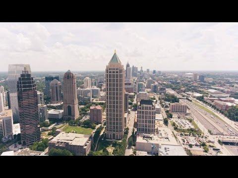 Atlanta from Above | 4K