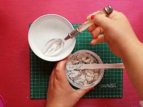 Tutorial c mo elaborar la pasta de textura casera youtube - Como pintar una pared con textura ...