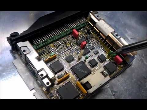 BMW e36 325is DINAN chip install (413 DME)