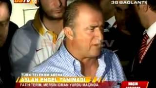 Fatih Terim esti gürledi!   Galatasaray 3-1 Mersin İY