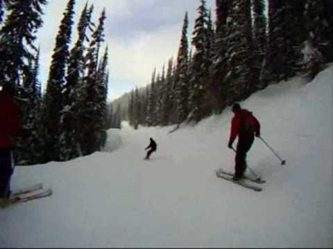 February 18, 2010: Headcam footage from Revelstoke Mountain Resort