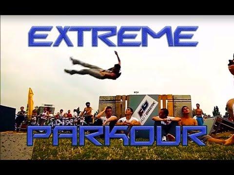 Невероятно крутой  ПАРКУР   Extreme  PARCOUR