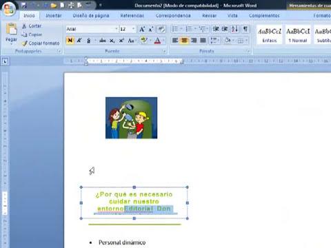 como elaborar folleto en Word 2007.mpg