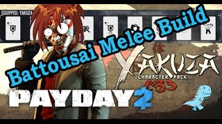 Video Game Throwbacks | Samurai Melee Build (One Down) | Payday 2 Builds