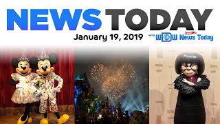 New Entertainment at Disney World, Fireworks at Disneyland, DisneySea Ride - News Today 1/19/29