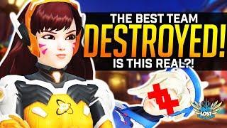 The BEST Overwatch Team Get DESTROYED! WTF!
