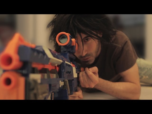 Nerf WAR! SNIPER vs SNIPER Battle!