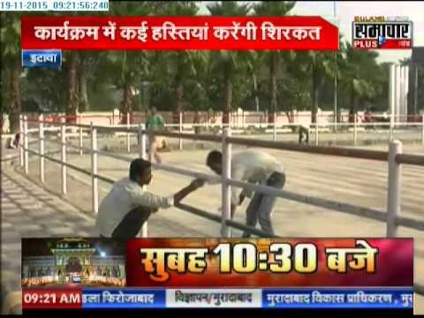 Saifai prepping up to celebrate Mulayam Singh Yadav's birthday
