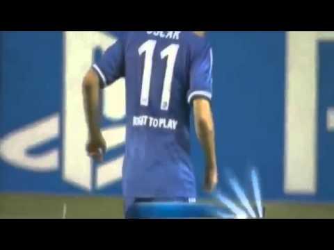 Gol de Oscar en el Chelsea - Basel
