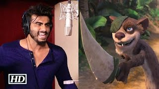 Arjun Kapoor lends his taporii voice for animated film 'Ice Age'