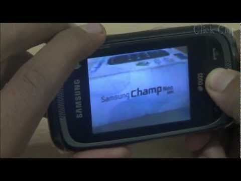 Samsung Champ Neo Duos Unboxing & Review