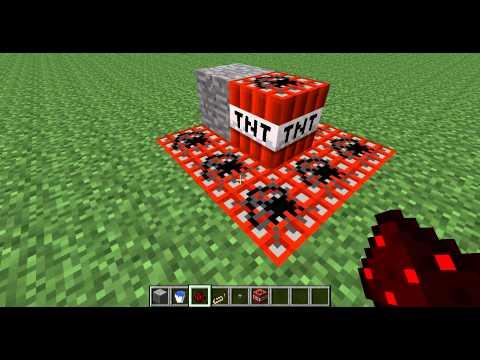 minecraft jak udělat ohňostroj