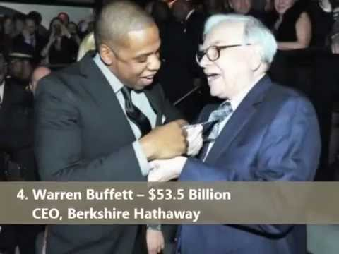 2013 : FORBES TOP 10 BILLIONAIRES