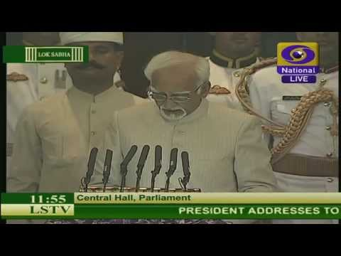 Live: President's address to the joint session of Parliament