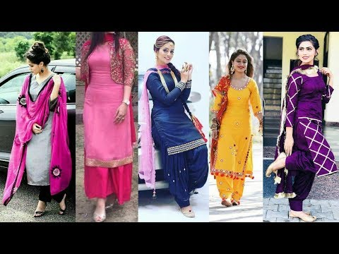 Latest Top 20 Beautiful Punjabi Suit Designs 2018 || New Fashion Updates