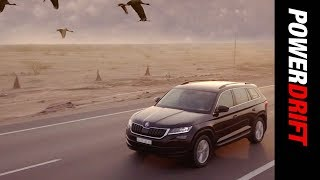The Epic Migration ft. Skoda Kodiaq : PowerDrift
