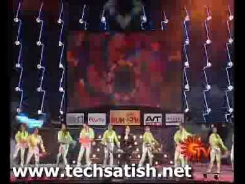 Fefsi SUn Tv Show Actress Mumtaz Dance Performance