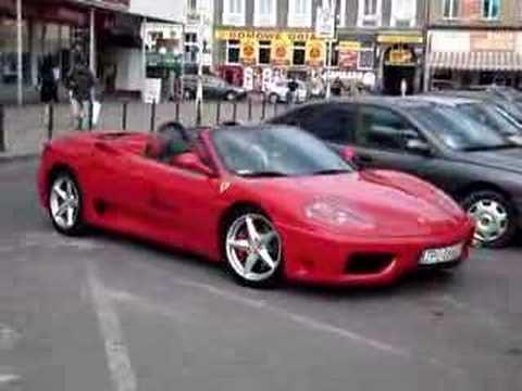 Ferrari Modena 360 Pod Medicusem W Szczecinie