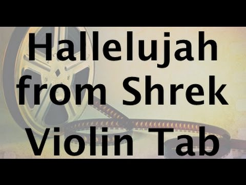 How to play Hallelujah from Shrek on the violin