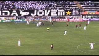 Os 4 gols do Santos contra o Atlético-GO