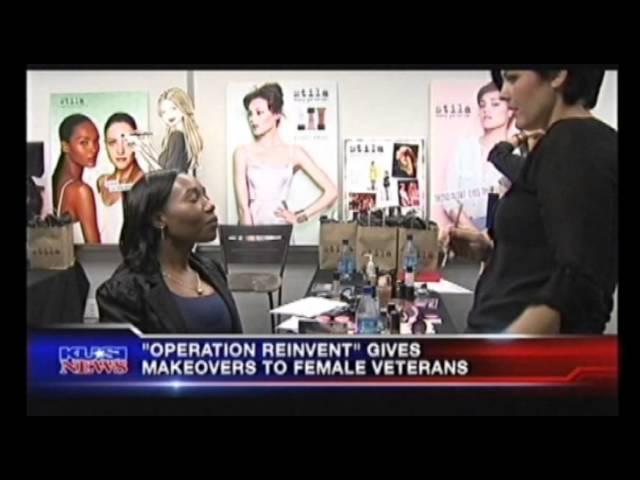 OPERATION REINVENT MAKES OVER WOMEN VETERANS ATTENDING REBOOT WORKSHOP NEWS STORY OCT 23, 2013