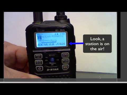 Icom ID-31A Dstar Radio