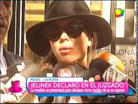 """Jelinek, tras declarar en La Plata: """"Me hace mal hablar de Leo"""""""