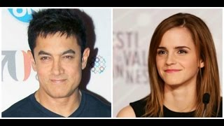 Aamir Khan To Work With Hollywood Actress  Emma Watson