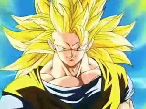 Goku Turns Into Super Saiyan 3