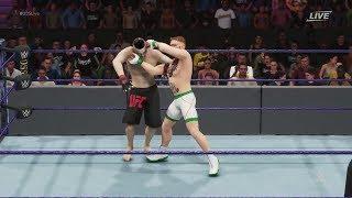 WWE 2k19 Conor McGregor vs. Nate Diaz (CPU vs. CPU)