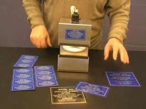 Metal Nameplates Signs Labels Tags You Make In Minutes