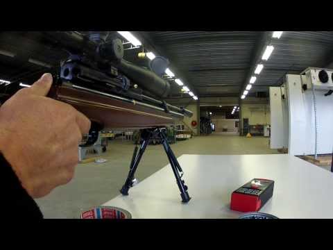 Hatsan AT44-10W accuracy test 50mtr