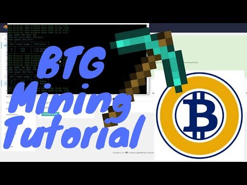 Bitcoin Gold Mining Step by Step Tutorial (Nvidia)