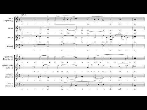 Монтеверди Клаудио - Ave maris stella