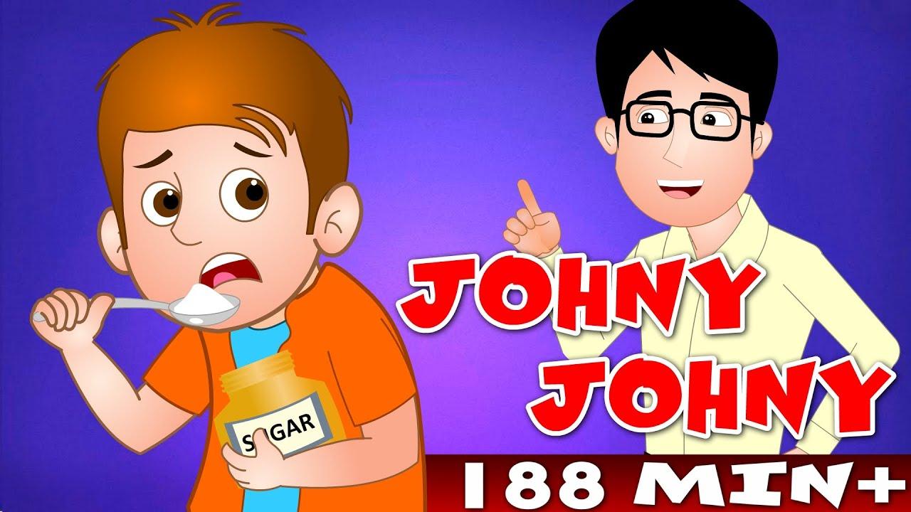 Johny johny yes papa and many more top 100 popular nursery rhyme