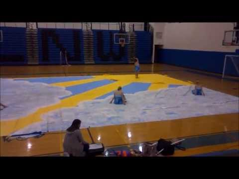 Lake Norman High School Winter Guard Show 2012