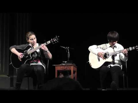 Sungha Jung And Gabriella Quevedo Plays Billie Jean By Michael Jackson video