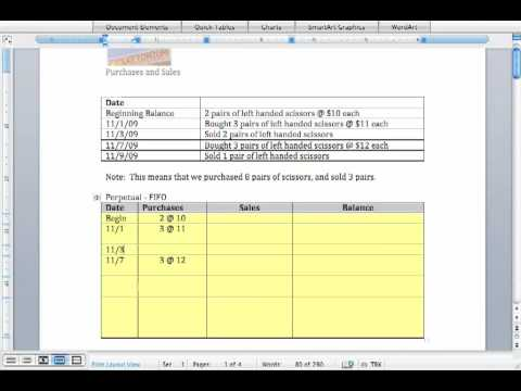 fifo lifo accounting exercises pdf