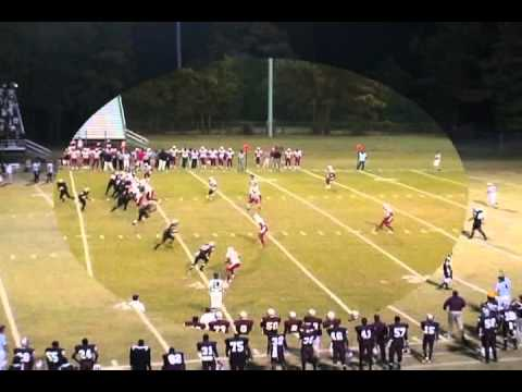 Rishunn McCaleb # 17 Coahoma Community College football highlights