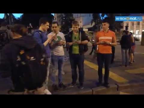 Видео дня: как люди сходят с ума по Pokemon Go в России