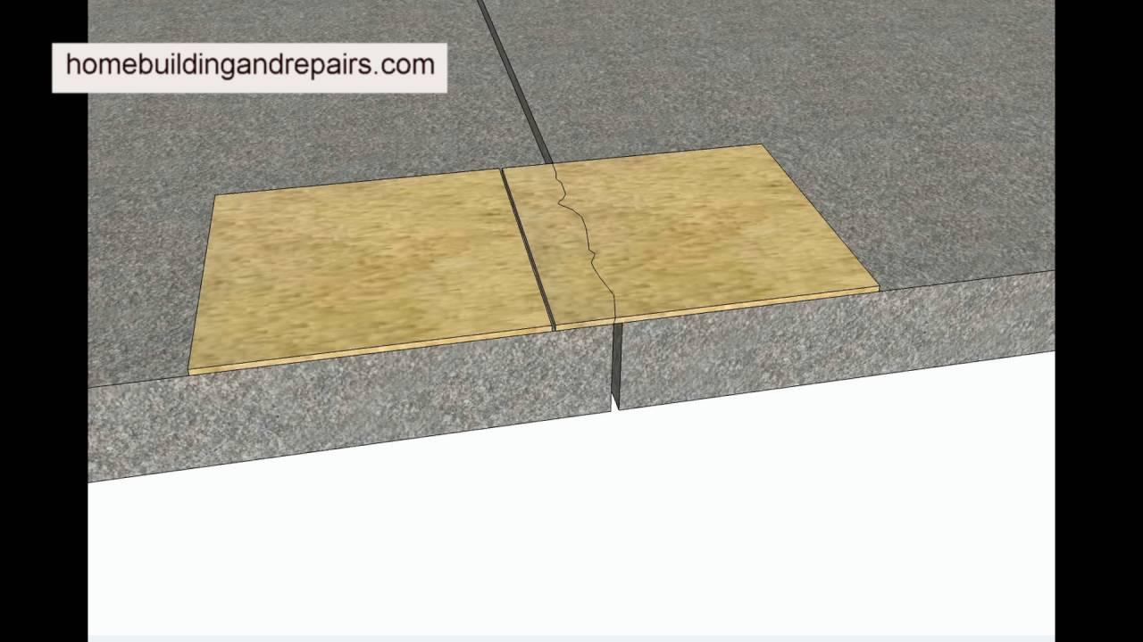 Why do floor tiles crack