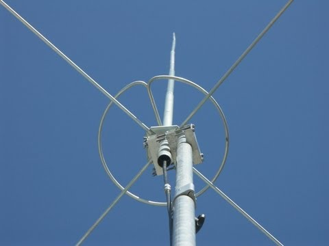 TAGRA BT-210 Ringo, the European clone of AVANTI AV-170,  5/8 antenna