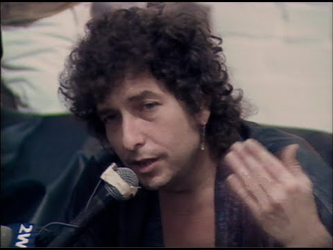 Bob Dylan in Sydney, ABC TV News, 10 Feb 1986