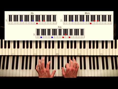 How to play Clocks - Coldplay. ORIGINAL Piano lesson. Tutorial by Piano Couture.